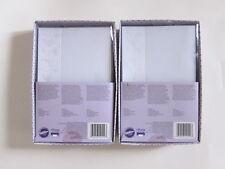 Lot of 2 Wilton Floral Wedding Invitation Printable Kit Cards Envelopes 100 Sets