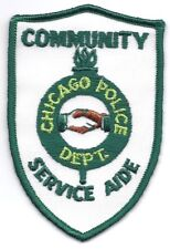 **CHICAGO ILLINOIS POLICE COMMUNITY SERVICE AIDE POLICE PATCH**
