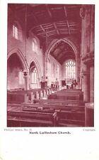 Rutland - NORTH LUFFENHAM, Interior view of Church.