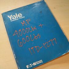 Yale Basso Sollevamento Mp hp Hpr Alimentazione Pallet Giacca
