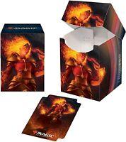 Ultra-Pro Magic the Gathering: Core 2021 Chandra Pro 100+ Deck Box w/ Divider