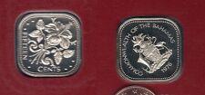 Bahamas - 15 Cents 1976 Elisabeth II Hibiscus PROOF UNC FDC 23 000 exemplaires