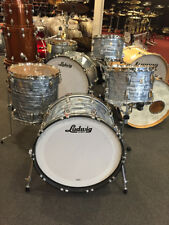 Ludwig Classic Maple 13-16-22 Sky Blue Pearl Drum Set Kit $1949.00