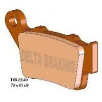 DELTA Sintered Rear Brake Pads  for YAMAHA XT 660 Z TENERE (Non ABS)  660cc 8> M