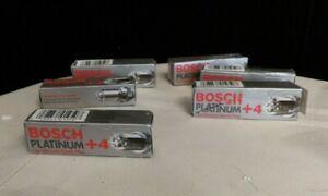 (6) Bosch Spark Plugs 4417 Platinum +4 BMW E36 E39 Volvo