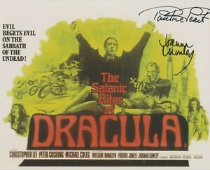 SALE! Joanna Lumley, Pauline Peart signed poster photograph - Dracula - Q056