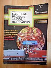 Practical Electronic Projects for Model Railroaders 1975 Vintage Publication
