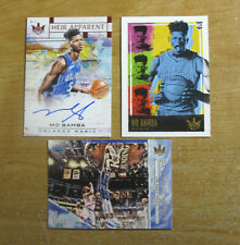 MO BAMBA 18-19 Court Kings Heir Apparent #/99 RC AUTO Red Autograph Rookie 3