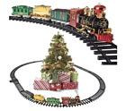 Christmas Train Set Around The Christmas Tree With Real Smoke Music & DAMAGED BX