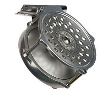 """NEW HARDY BOUGLE HERITAGE 3 1/2"""" FLY REEL #5-6 WEIGHT ROD UK MADE FREE $100 LINE"""