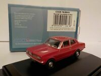 Vauxhall Viva, Red, Oxford Diecast 1/76 New Dublo, Railway Scale