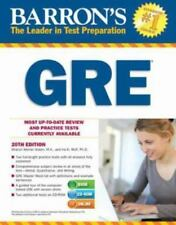 Barron's GRE with CD-ROM, 20th Edition