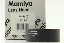 [Unused Boxed] Mamiya Lens Hood N 4.5/150 L for Mamiya 7 150mm F4.5 L from Japan