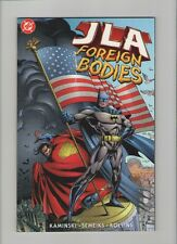 JLA - Foreign Bodies Trade Paperback - 1999 (Grade 9.2) WH