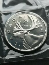 *** CANADA  25  CENTS  1971 ***  SEALED  PROOF  LIKE  ***