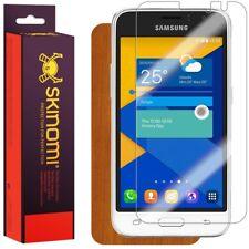 Skinomi Light Wood Skin & Screen Protector for Samsung Galaxy Express 3