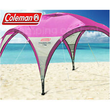 COLEMAN 3MTR EVENT PARTY SHADE (PURPLE) UV SHELTER GAZEBO BEACH PICNIC