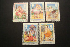 GB 1994 Commemorative Stamps~Picture Postcards~Very Fine Used Set~UK Seller