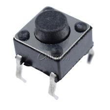 100Pcs Tactile Push Button Switch Tact Switch 6X6X5mm 4-pin DIP