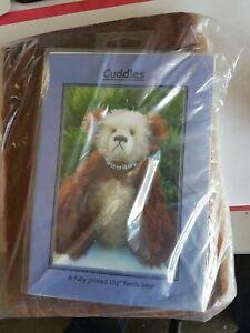 """Cuddles"" Teddy Bear Making Kit 34cm"