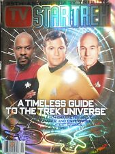 STAR TREK tv guide special 35 ANNIVERSARY GUIDE TO UNIVERSE + awesome POSTER