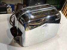 TOASTMASTER Model 1B14 Automatic 2-Slice Pop Up Toaster Vintage Chrome  *NICE*
