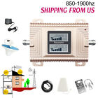 Cell Phone Signal Booster Kit 850/1900MHZ Dual Band 4G Mobile Repeater Amplifier