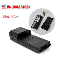 Battery Case (6xAA Battery) for Baofeng UV-5R Plus UV-5RE Two-way Radio