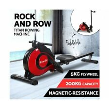 Everfit Rowing Exercise Machine Rower Resistance Magnetic Flywheel Home Fitness