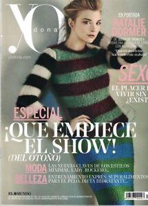 SPANISH MAGAZINE YODONA: NATALIE DORMER / GAME OF THRONES / CELINE DION / TOMAS
