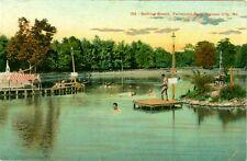 Kansas City, MO The Bathing Beach at Fairmont Park 1909