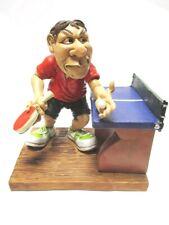 Tischtennis Spieler mit Platte,14 cm Sport Funny Figur Kollektion,Neu