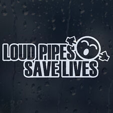 Loud Pipes Save Lives  Oh No Jdm Funny Car Decal Vinyl Sticker