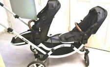 ABC DESIGN Geschwisterwagen Zoom Black Kinderwagen Baby Kinder