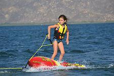 Airhead Ez Wake Inflatable Junior Children's Kids Wakeboard Trainer 1 rider