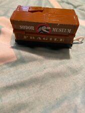 Pop Up Trackmaster Thomas Train Sodor Museum Car Roaring Dinosaur Fossil T-rex