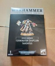 Warhammer 40k Space Marines Terminator Chaplain Tarentus Games Workshop