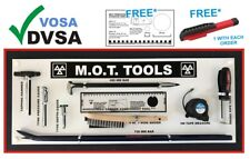 MOT SIGNS | MOT SIGN | VOSA DVSA | MOT TOOLS SHADOW BOARD 9 TOOLS CURVED BAR