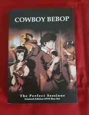 Cowboy Bebop, The Perfect Sessions, Ltd Ed DVD Box set,1 disc missing, Tv series