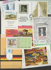 Brazil 1967/1974. 14 blocks sheets