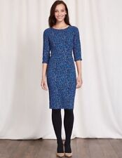 Boden Blue Rosalind Dress Size 14r Really WW144