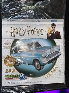 Wrebbit 3D Puzzle Harry Potter FORD ANGLIA Collector's Limited Edition Sealed