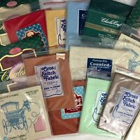 Aida Cross Stitch Fabric 14-Count Multiple Colors & Brands - You Choose