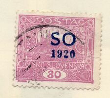 Silesia 1920 Early Issue Fine Used 30f. Optd 272717