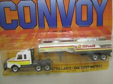Matchbox CONVOY - CY17 - Shell Tanker - Scania - Die-Cast - 7 Inches long