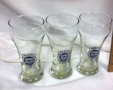 Pabst Extra Light beer glass bar glasses 3 drinking glassware PBR old UE3