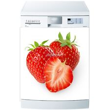Magnet lave vaisselle Fraise 60x60cm réf 599 599