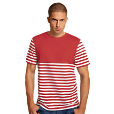 Thomas Gee homme taille XL MONTANA T-shirt rouge tee