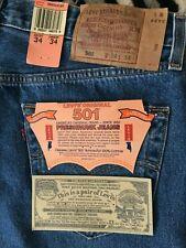 New listing Vintage 90s Levis 501 Denim Jeans 1993 Actual 34x34 Nos