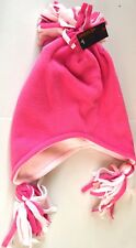 NEW Kids toddler Pink fleece ski hat 3-6years